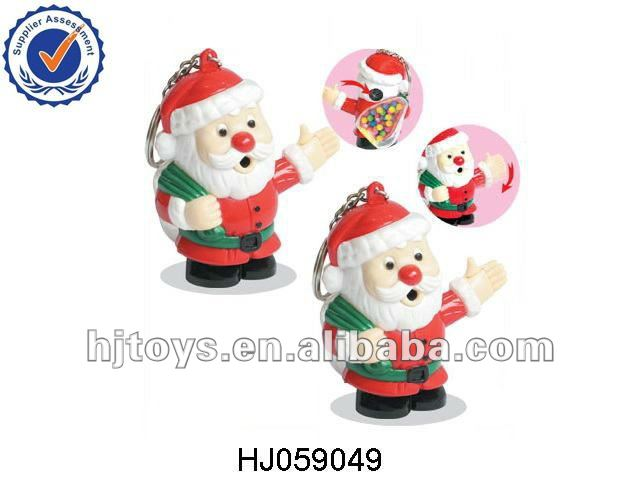 Santa Claus Camera Viewer Toy Candy