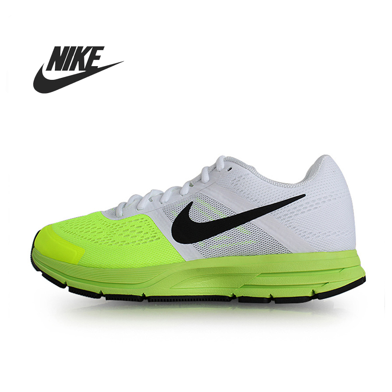 Electric Green Running Shoes