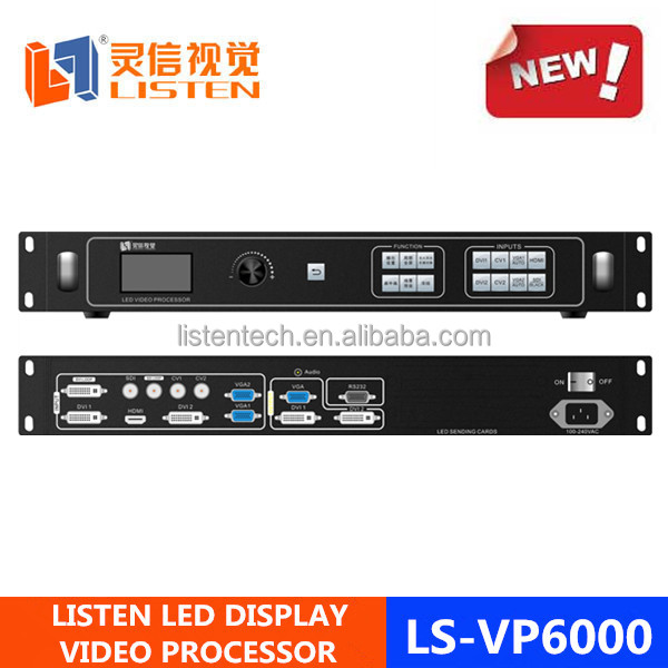 NEW VERSION Led Sync video processor/scaler video for led display TV signal