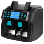 ST-4000 1+1 pockets Multi-currency Discriminator mixed banknote sorter bank counters value counter machine