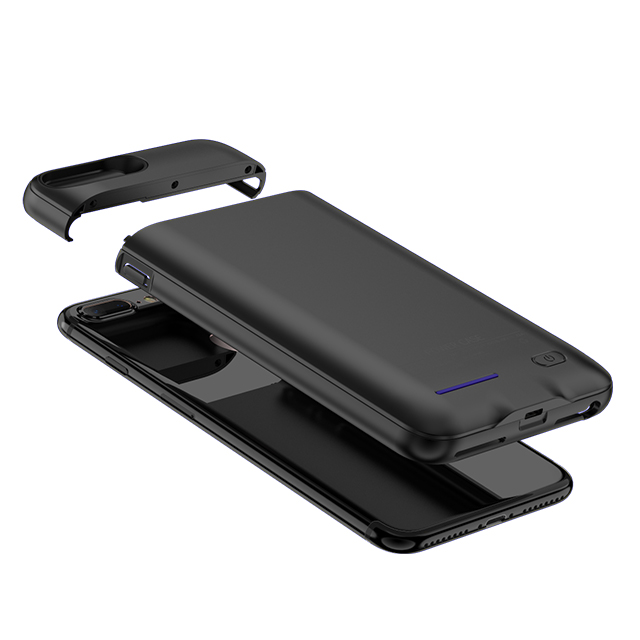 2019 Factory bulk production 3000mah true capacity power bank phone battery case for iphone