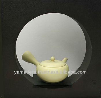 Japanese Beige Pottery Teapot T-111 For Japanese Tea Small Tea Pot ...