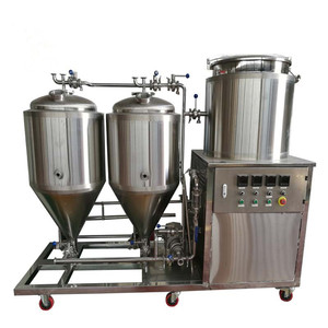 Mini 50L Original Style Brewhouse Home Beer Brewing Machine For Pub Brewing
