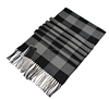 2017 Hot Sell Business Elegant Men Knitted Wool Scarves Plaid Wool Scarf