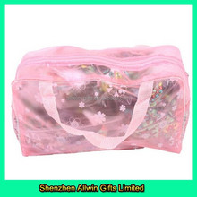 Toiletry Bag Portable Kits Waterproof Pink Makeup Pouch