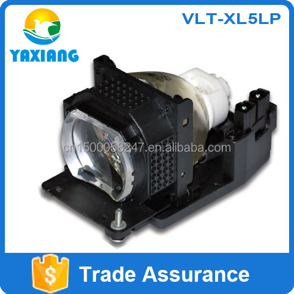 Replacement projector mercury lamp bulb VLT-XL5LP for SL5U XL5 XL5U XL5 XL6U