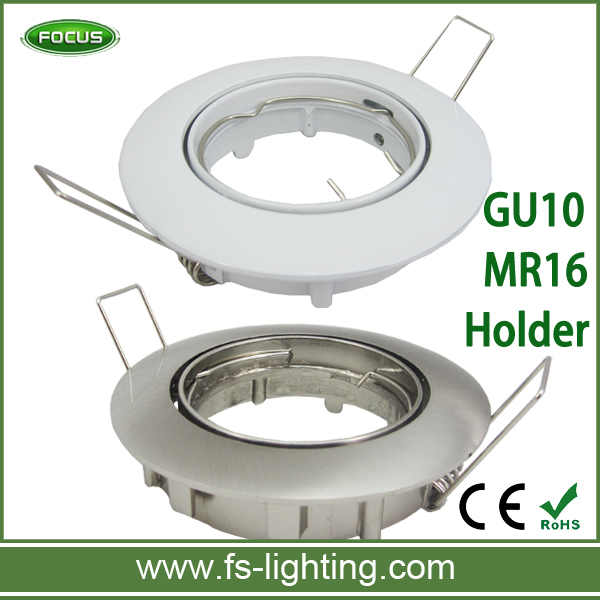 LED Recessed Lamp Holder for Diameter 50mm GU10 MR16 E27 B22 E14 Spotlight Downlight