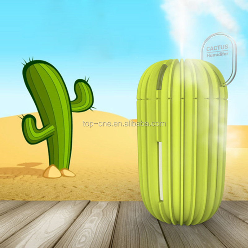 USB Desktop Portable Air Humidifier,USB Cactus Humidifier, usb air humidifier for home and office