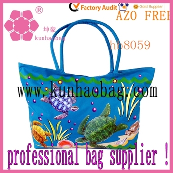Personalized Kids Beach Bags