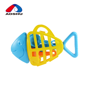 fish shape plastic summer outdoor playing beach sand toy set for children