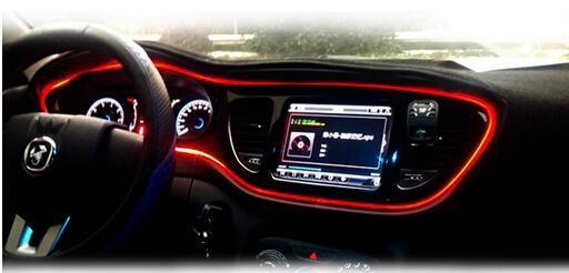 Car El Wire New Super Bright El Wire Car Use For Door Dashboard ...
