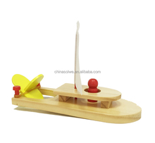 SOLWE wooden ship boat toys Wooden Model Ship Kit