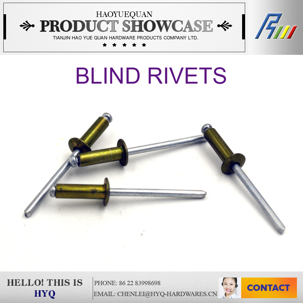 Different Types Of Pop Blind Rivets Manufacturers - Buy ...