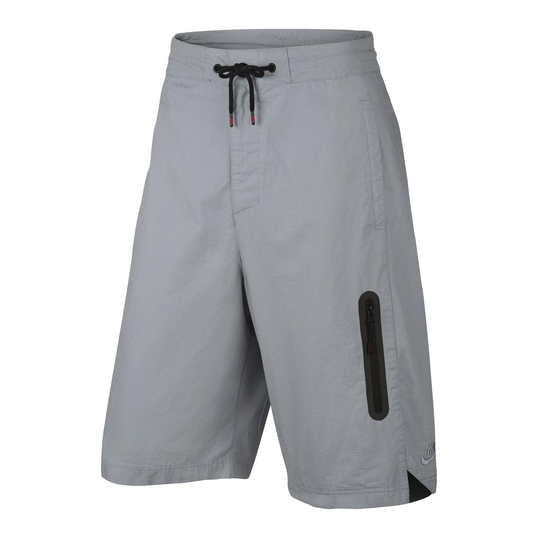 Nike Men's Woven Basketball Shorts, Wolf Grey