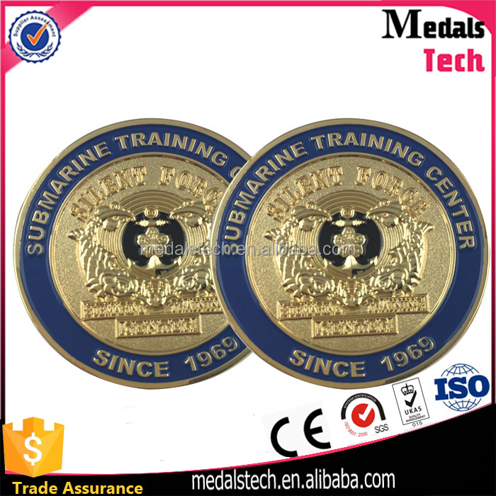 Factory direct sale metal cheap custom challenge alloy coins since 1969