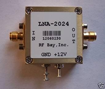 2.0-2.4GHz Low Noise Amplifier,LNA-2024, New, SMA