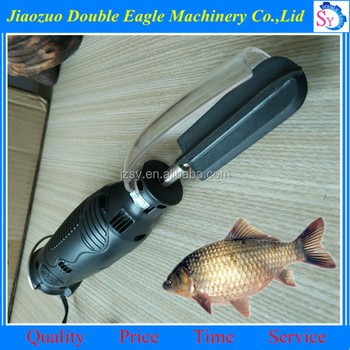 World 39 s fastest electric fish scaler fish scale remover for Electric fish scaler