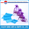 Organza gift bag draw string with ribbon hot selling low price