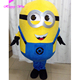 Professional costume supplier minion mascot costume for adult