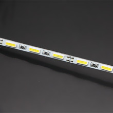 12v 7020 smd chip 84leds cool white 4mm wide rigid led strip