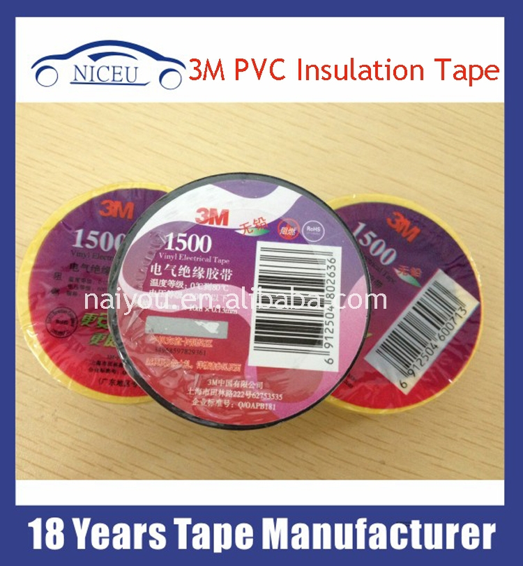 Hard packing PVC Electrical Insulation Tape