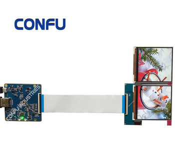 Confu Hdmi To Mipi Dsi Driver Board For 3 1 Inch Jdi 720*720 Lt031mdz4000  Dual Lcd Panel For Vr/ar Hmd Project China - Buy Hdmi To Mipi Dsi Driver