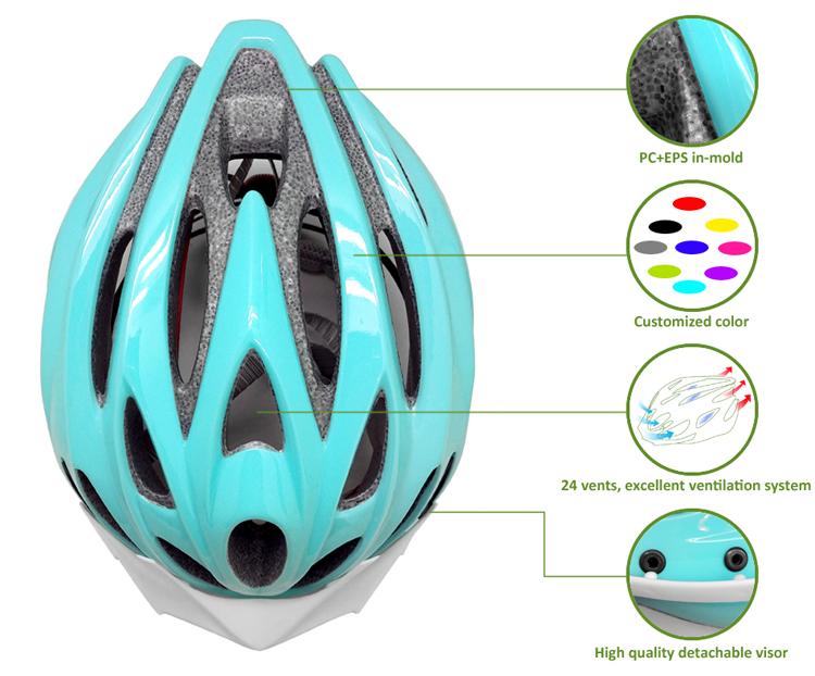 2018 hot selling MTB unisex bicycle helmets 7
