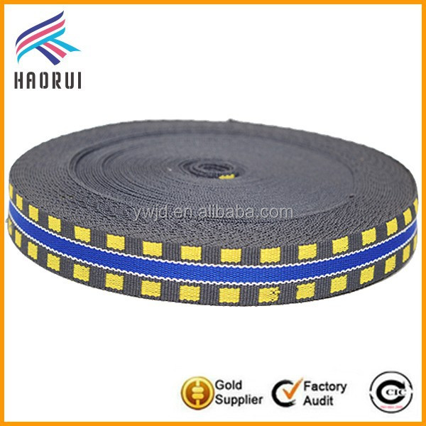 National polycotton jacquard webbing band for binding