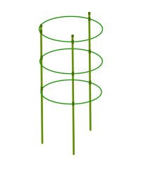 "Mr.Garden Mini Trellis garden trellis for potted climbing plants support 6.3"" Dia x 7"" Dia x 8.1"" Dia x 24"" H,3 Rings,3 Sets"