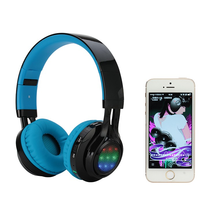 Brand new led display bluetooth headphone 4.2 stereo headset