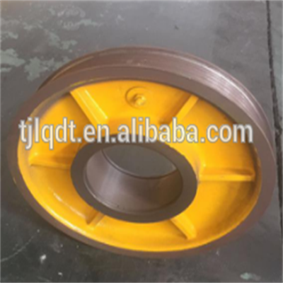 Resistance to wear and safe elevator wheel, the rope round,elevator parts