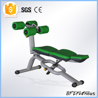 Gym Bench Equipment Exercise Curved Sit up Bench for Ab Crunch Exerciser