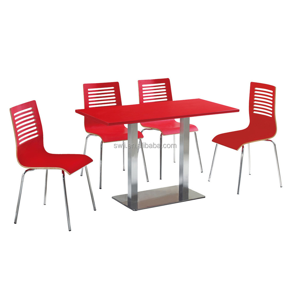 Fast Food Dining Table And Chair Philippines Restaurant For Sale