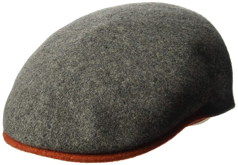 6823c617f11 Get Quotations · Kangol Men s Wool 504-s Flat Ivy Cap Hat