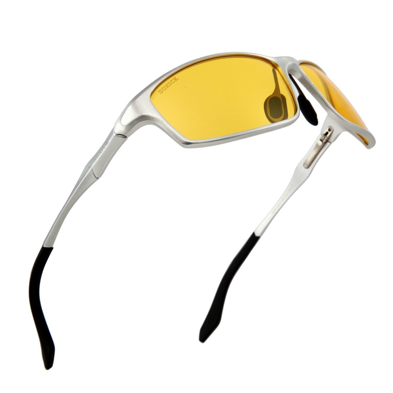 cd5b4a0ec2 Buy Night Driving Glasses HD Polarized Anti-Glare Lenses Reduced Eye Strain Men  Women in Cheap Price on m.alibaba.com