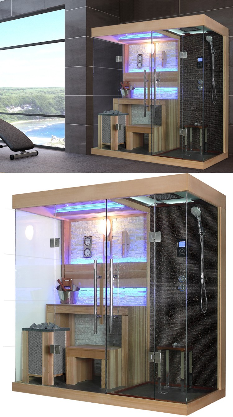 Hs-sr1389 Sauna Shower Sets,2 Person Sauna Shower Sauna Combination ...