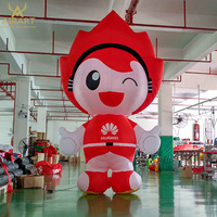 2m/3m or customized inflatable cartoon character for sale,advertising inflatable