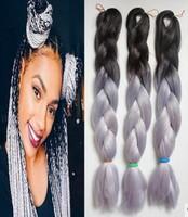 100 Human Jumbo Braid Crochet Hair Bob Hair Weaving