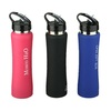 Insulated Water Bottle with Straw Stainless Steel Double Wall Sport Bottle Thermal Vacuum Keeps hot or cool