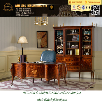 Royal Luxury Office Furniture Alibaba Online Ping Desk Study Table