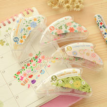 Lace flower Mini roller correction tape for kid birthday Masking tapes Stationery Office accessories School supplies 6878