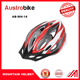 Red color ladies biking MTB helmets, hot, passion, dynamic ladies helemts