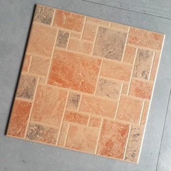 Brown Color Anti Slip Brick Look Ceramic Tile Used For Wall And Floor 16x16