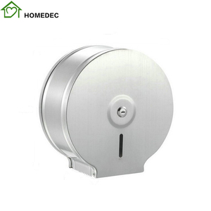 Stainless Steel 304 Chrome Jumbo Toilet Paper Holder Roll Dispenser