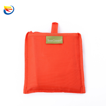 Factory long-term supply can customize folding shopping bag polyester handbags can be printed logo