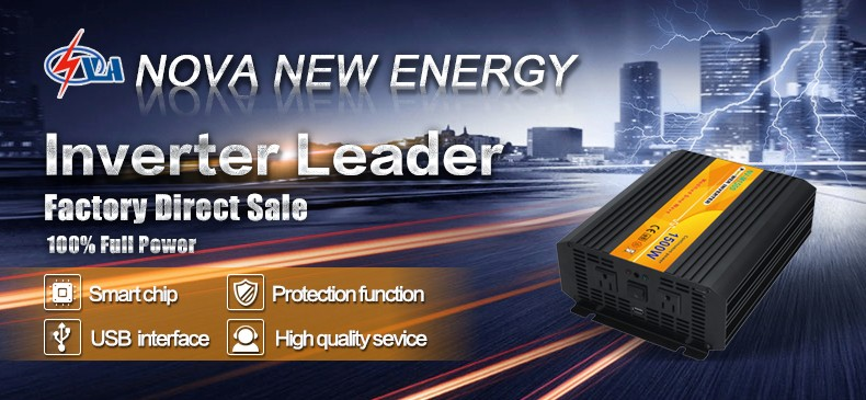 1500W off grid dc to ac modified sine wave power inverter