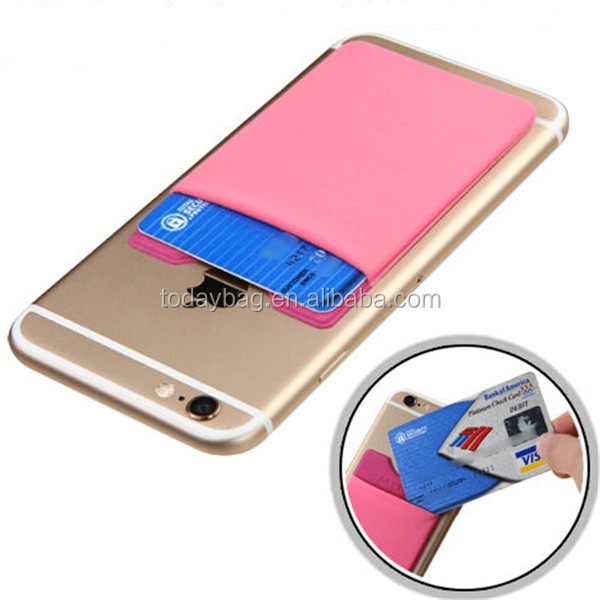 Hot Sale RFID Magic Wallet Elastic Fabric Smart Wallet For Cell Phone