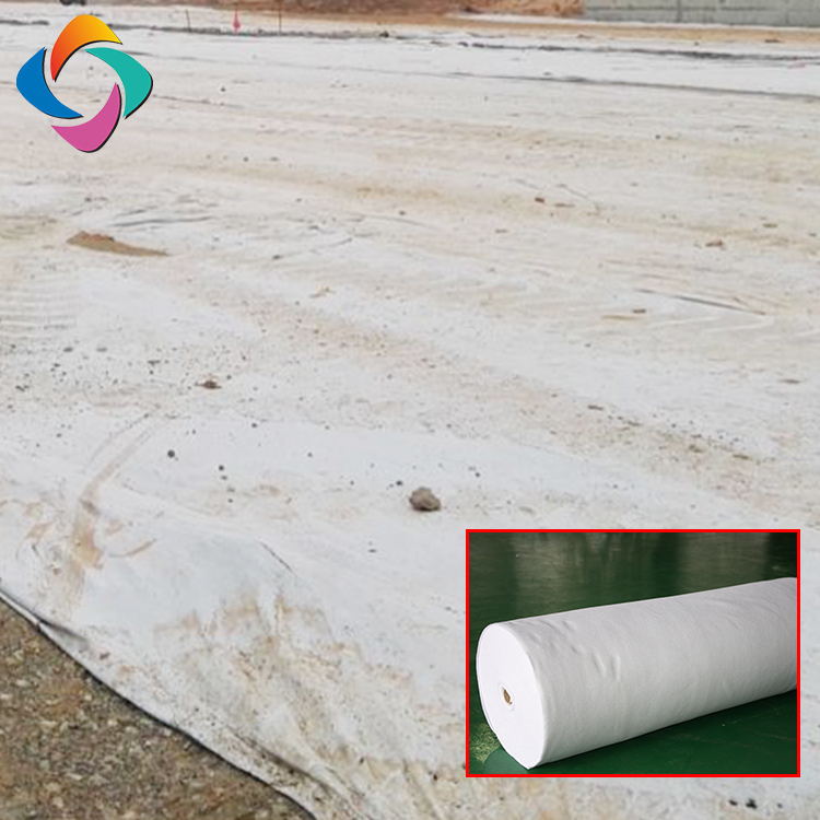 China factory polypropylene construction needle punched non woven geotextile price Per M2