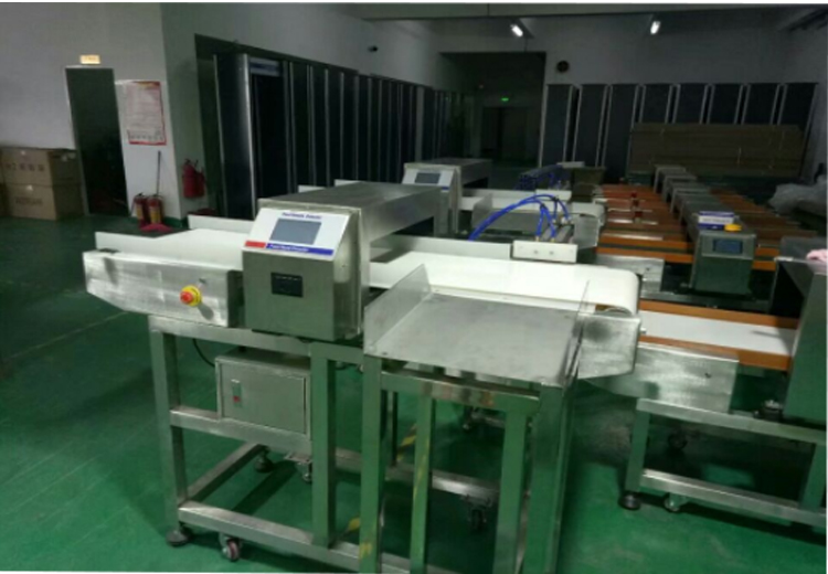 Automatic Broken Needle Metal Detector Inspection Machine For Food Processing Industry