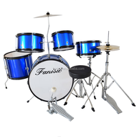 Hot Sale Junior Mini Drum Set With Stand , Cymbal Musical Instruments